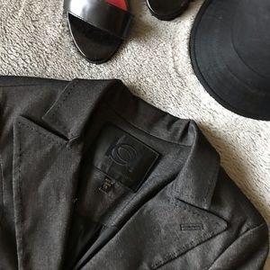 Bebe Collection Classic Gray Blazer